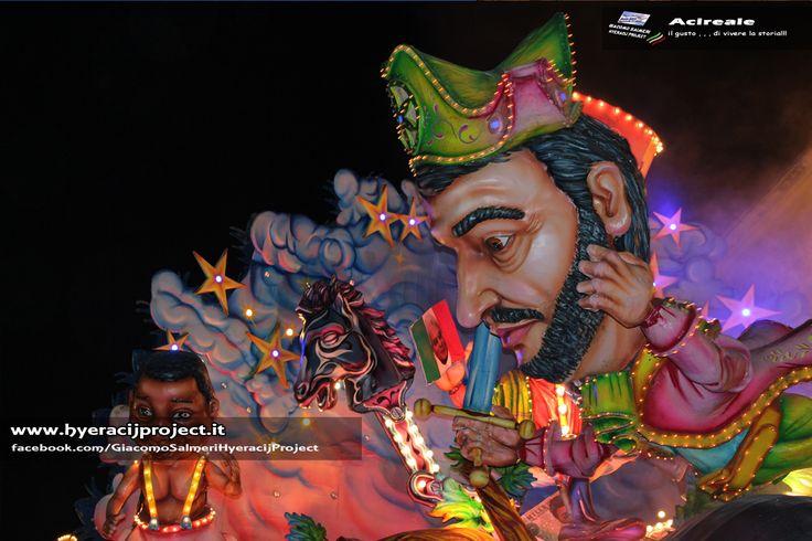 #Acireale, Carnevale 2016, il più bello di Sicilia, una delle manifestazioni più autentiche e coinvolgenti del folklore isolano. www.hyeracijproject.it  #ilgustodiviverelastoria, © #2014HyeracijProject