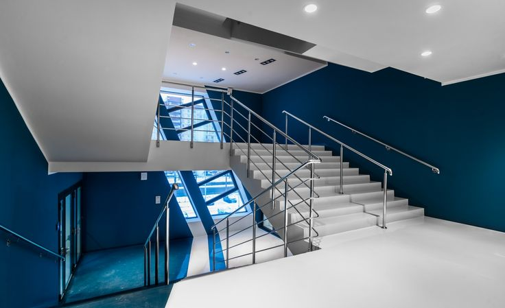 The Staircases Interior of The SKA Sports Complex «Hockey Town»