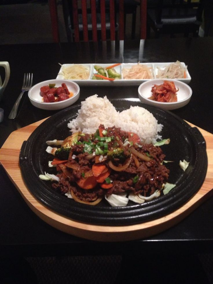 Fusion Korean Restaurant, Airway Heights, Airway Heights. ***Hole in the wall*** (great food though)