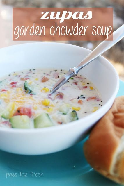 Lightened-Up Zupas Garden Chowder Soup. Copycat recipe that you will quickly add to your favorites for dinner or lunch!