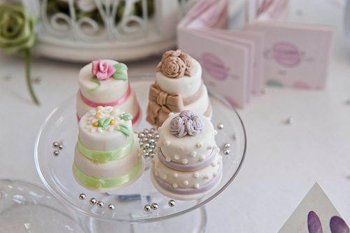 #wedding #specialday #BoscoloHotels #minicakes