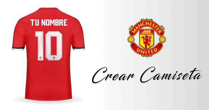 Crear Camiseta de Manchester United 2017/2018 Cup con tu Nombre