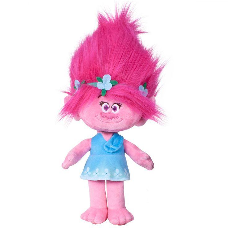 Gosedjur Trolls - Poppy (44cm)