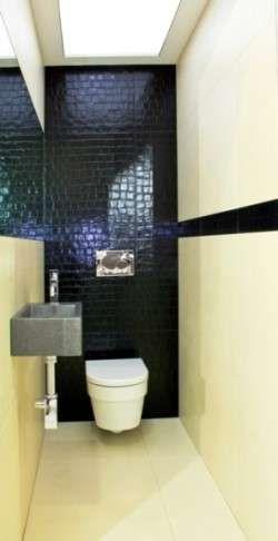 Idee per l'arredamento di un bagno piccolo - Bagno piccolo stretto e lungo