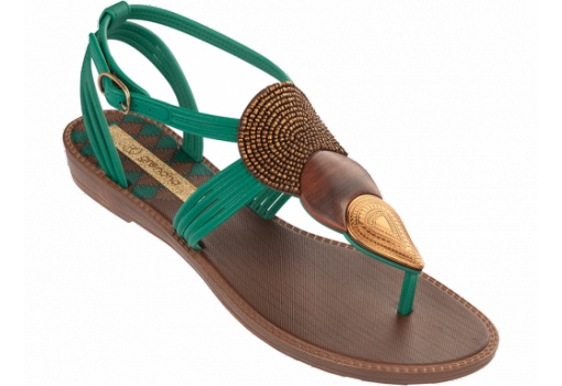 Grendha Sanda Green Sandal