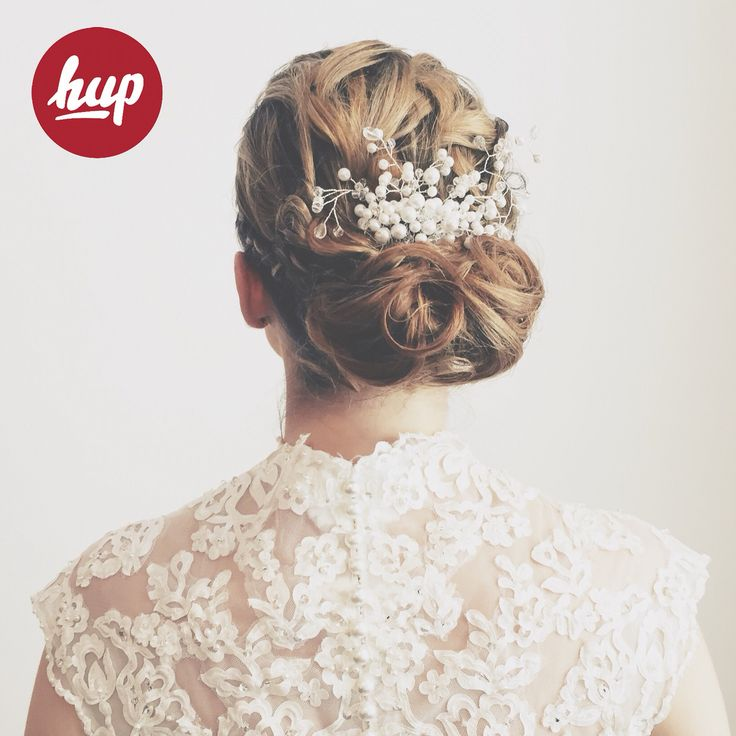 wedding hair with the hup hairtool
