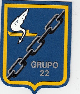 PATCH SPAIN MORON AFB 22nd  GROUP  P-3 ORION    PARCHE