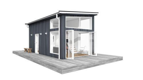 MittModulhus | Våra arkitektritade Attefallshus