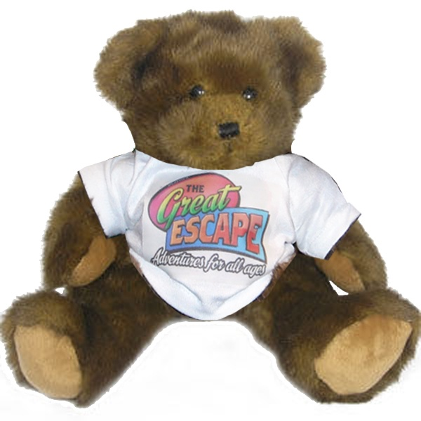 Build a Bear is now at The Great Escape in Langley, BC. Pick your bear, stuff it, pick out an outfit. Add this to your party package .  Look, our own Great Escape teddy bear.