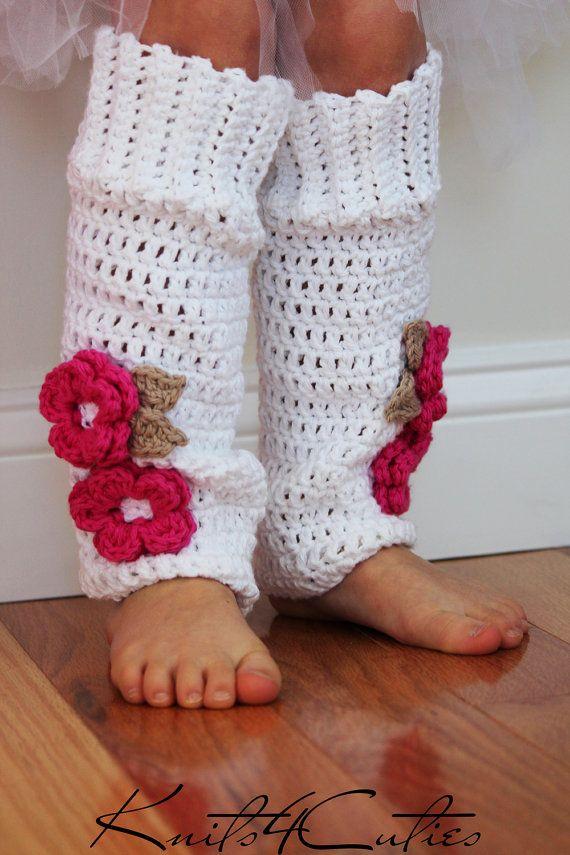 Free Crochet Patterns For Little Girl Leg Warmers : Crochet Baby Leg Warmers, girls legwarmers, toddler ...