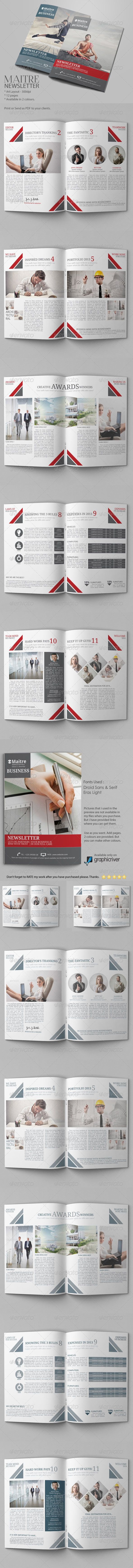 Best Company Newsletter Images On   Newsletter