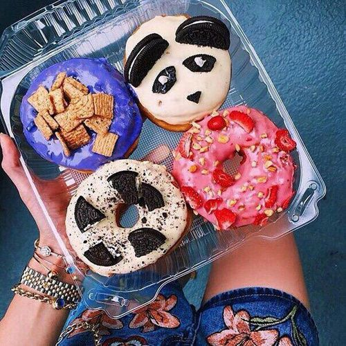 grafika food, donuts, and tumblr