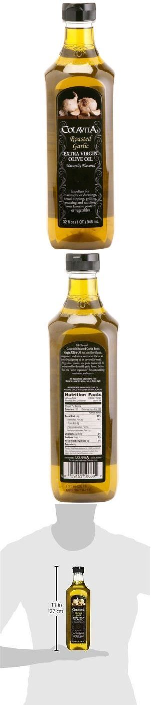 Oils 134646: Colavita Roasted Garlic Extra Virgin Olive Oil, 32 Ounce -> BUY IT NOW ONLY: $31.19 on eBay!