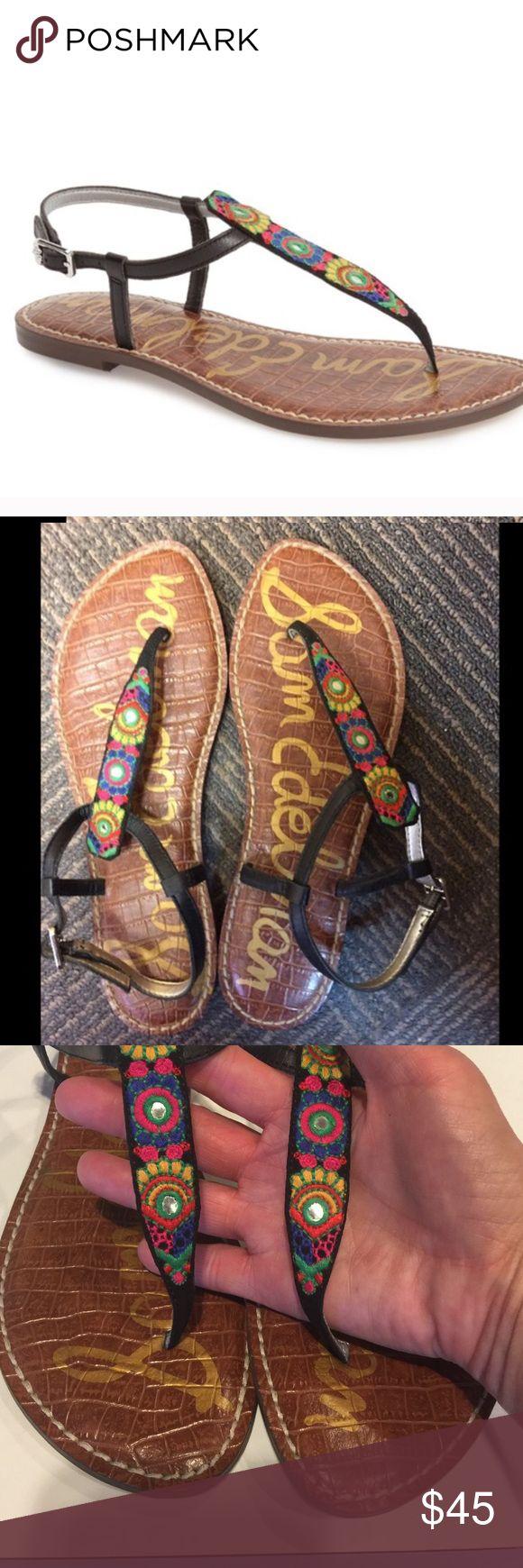 NEW Sam Edelman Gigi Sandals Bombay Print Size 9 NEW Sam Edelman Gigi Sandals Bombay Print Size 9. Adorable and comfortable! Sam Edelman Shoes Sandals