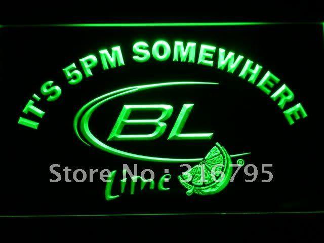 679-г это 5 Где-То Bud Lite Lime Неоновый с Включения/Выключения 7 Цветов в выбрать