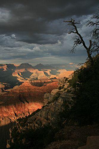Sunset, Grand Canyon NP, Arizona