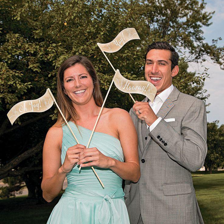 wedding photo booth props printable%0A Wedding Pennant Flags Photo Booth Props  photobooth