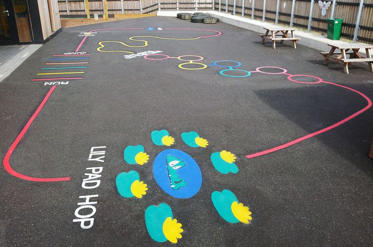 We Love Exercise Tracks Our Playground Marking Catalogue Has Numerous Examples Of Tracks We Ve