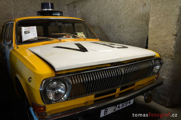 GAZ - Volha as a police car