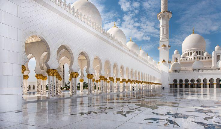 Ponto turístico Mesquita Sheikh Zayed Abu Dhabi