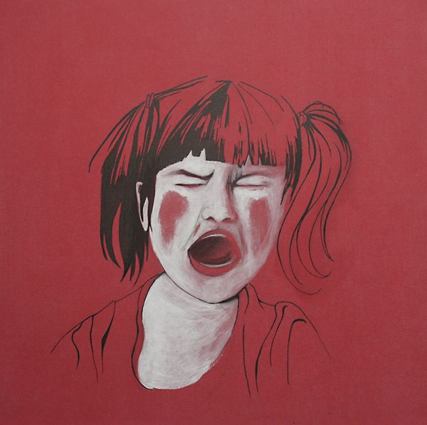white kids by Isabel Quiles, via Behance