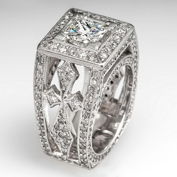 rings diamond smith product engagement stacking platinum and pruden funky