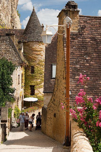 Le Château Belcastel à Dordogne , France