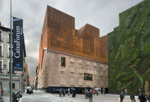 CaixaForum Madrid is a post-modern art gallery in the centre of Madrid, Spain.