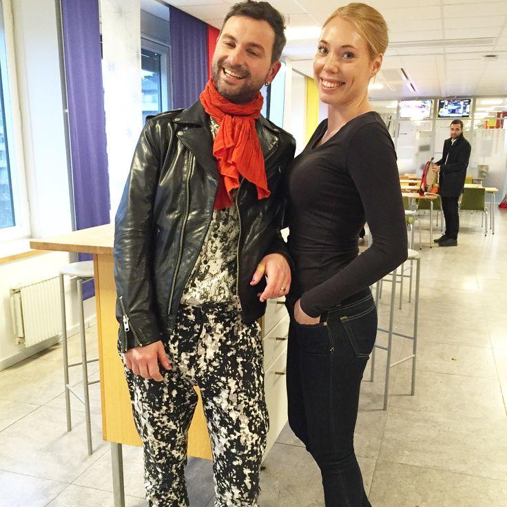 Livshjulet med Ola Salo. Ola Salo och Anna Hegestrand. 2015