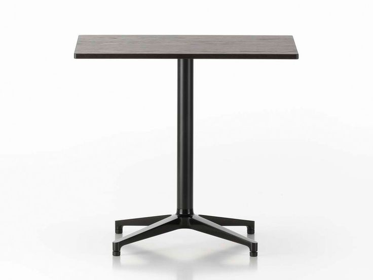 The RectangularBistro Tablewas created alongside the Vitra Soft Shell Chair.