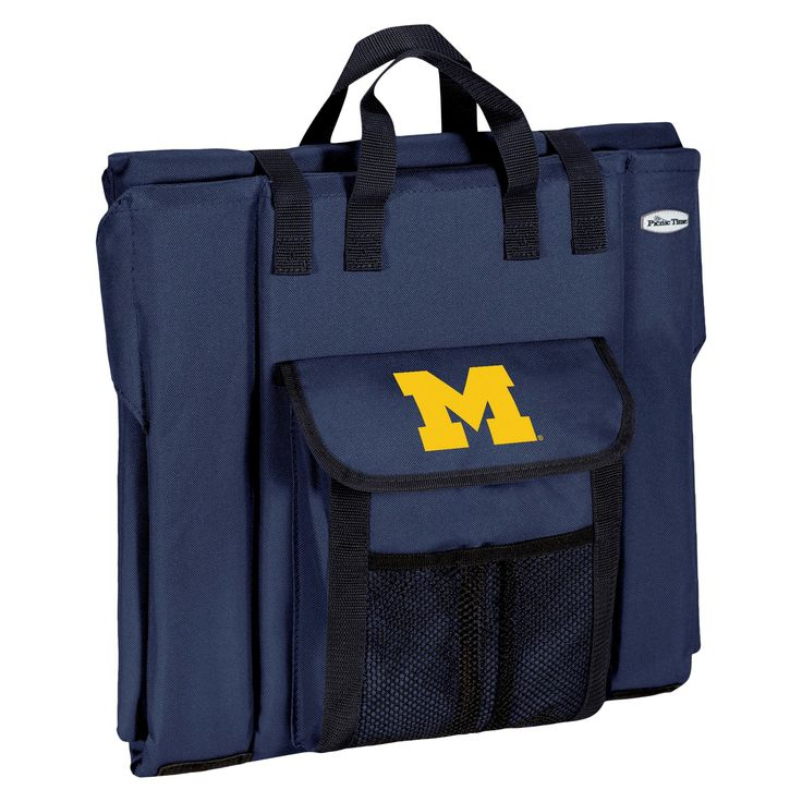 Portable Stadium Seats NCAA Michigan Wolverines Navy