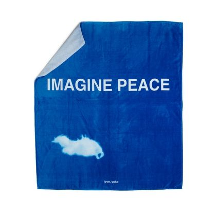 Imagine Peace Beach Towel