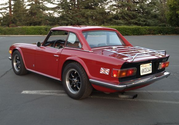 '73 Triumph TR6 Roadster w/ overdrive. Give me a Brit over a German car any day.