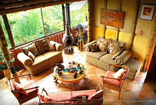 Guadua Bamboo House San Jeronimo This stunning bamboo house was designed and build by Martin Coto and is located in the small town of San Jeronimo, Moravia, Costa Rica. Martin is an expert bamboo designer and builder with over 30 years experience on a national and international level.
