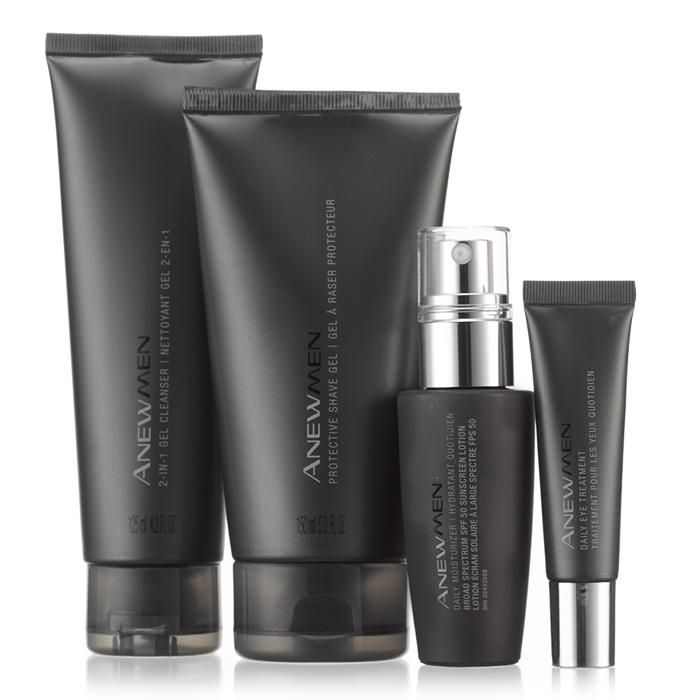 Anew Men's line is simple and direct, targeted…