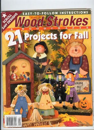 Wood Strocketproyects for fall - Nélida Alvarez - Picasa Web Albums...FREE MAGAZINE!!