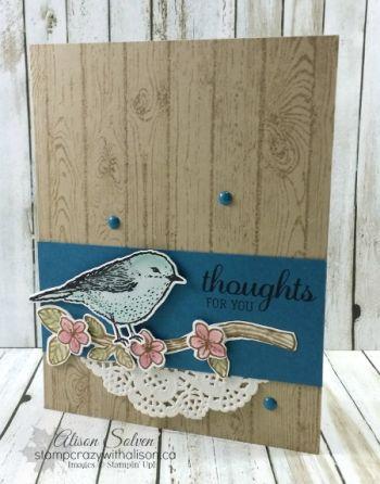 Best birds photopolymer stamp set www.stampcrazywithalison.ca