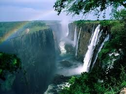 Devil's pool in Victoria Falls, Zimbabwe  www.GlobalAES.com