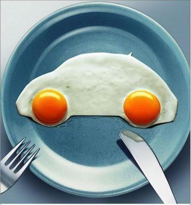 car eggs