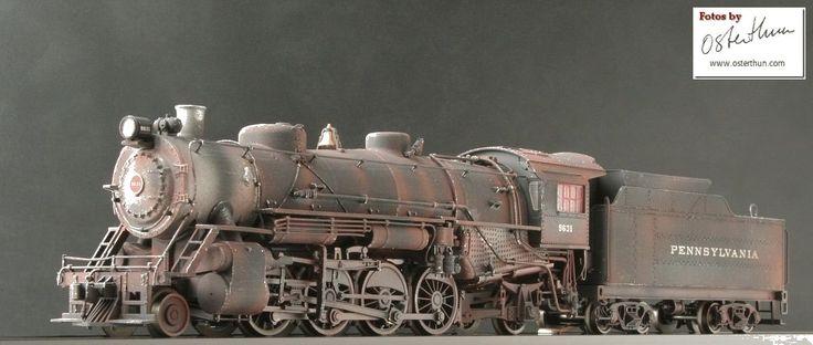 Marklin 37989 Steam locomotive PRR Mikado Weathered ... Euro Model ...