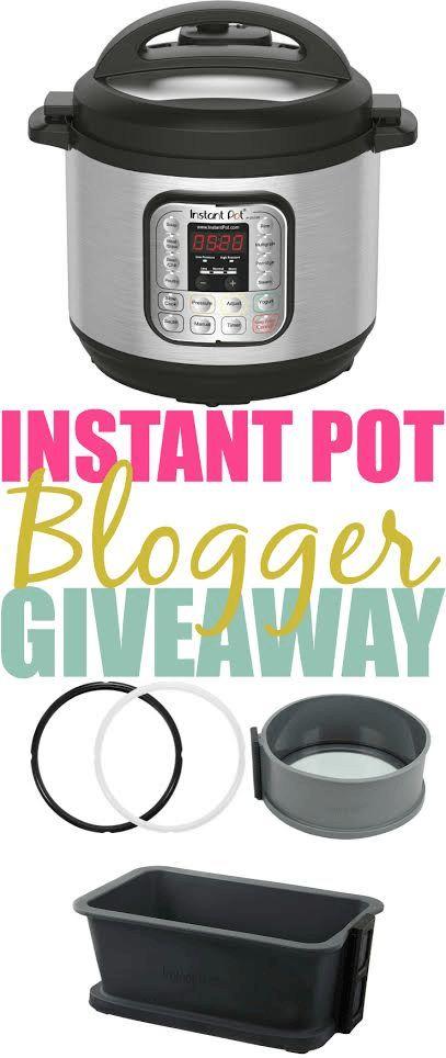 Instant Pot Blogger Giveaway
