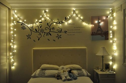 decoracion habitacion con luces - Buscar con Google