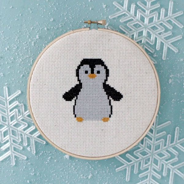7 cross stitch patterns for cozy winter stitching