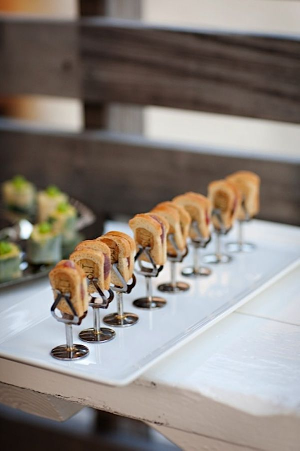1231 best food display images on pinterest drink savory for Canape display stands