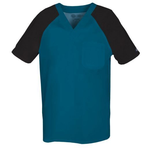 Men's Dickies Gen Flex CBCZ 81920 V Neck Shirts Raglan Short Sleeves Top 2XL | eBay