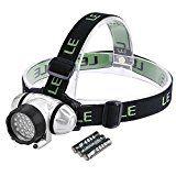 sparen25.info , sparen25.com#7: LE Superheller LED Stirnlampe, LED Kopflampe, 18 Weiße LED und 2 Rote LED, 4 Helligkeiten zu…sparen25.de