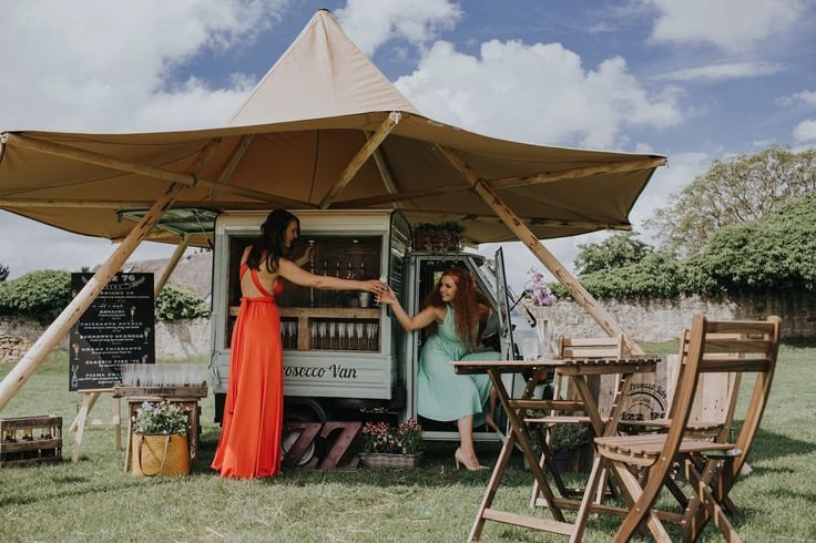 colourful-bridesmaid-dresses-and-prosecco-van-sami-tipi-styled-wedding-shoot