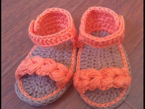 Sandálias em Crochê - YouTube