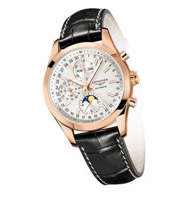 Conquest Classic Moonphase L2.798.8.72.3 #Longines #Moonphase #ConquestClassic #PinkGold