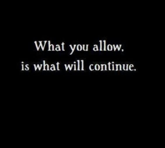 Only allow what you wish to continue